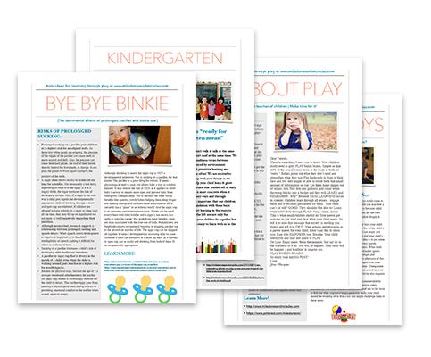 Parent Education Packs